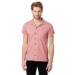 RJR.John Rocha - Designer pink jacquard spot jersey shirt