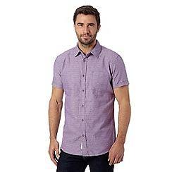 RJR.John Rocha - Designer purple short sleeved shirt