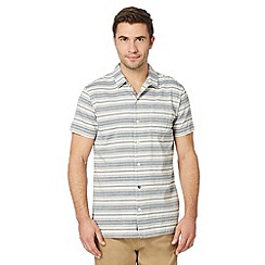 RJR.John Rocha - Big and tall designer blue textured stripe shirt