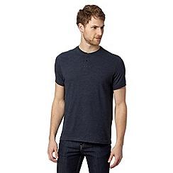 RJR.John Rocha - Designer navy button t-shirt