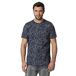 RJR.John Rocha - Designer navy floral t-shirt