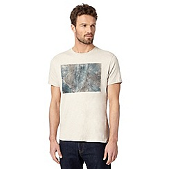 RJR.John Rocha - Big and tall designer natural print t-shirt