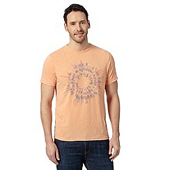 RJR.John Rocha - Designer orange circle burst t-shirt
