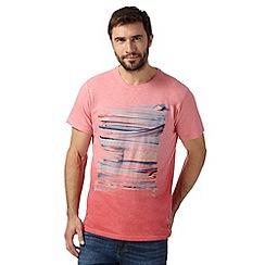 RJR.John Rocha - Designer pink brushstroke t-shirt