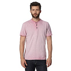 RJR.John Rocha - Big and tall designer pink oil wash t-shirt
