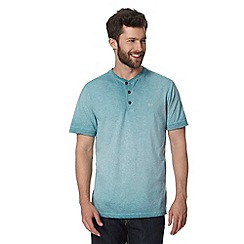 RJR.John Rocha - Big and tall designer aqua oil wash t-shirt