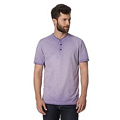 RJR.John Rocha - Big and tall designer purple oil wash t-shirt