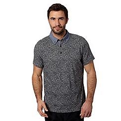 RJR.John Rocha - Designer grey floral polo shirt