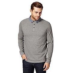 RJR.John Rocha - Designer grey spot polo shirt