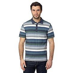 RJR.John Rocha - Designer green striped polo shirt