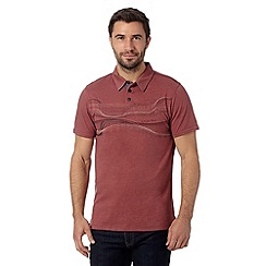 RJR.John Rocha - Designer dark pink stitch chest polo shirt