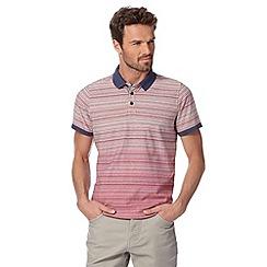 RJR.John Rocha - Designer pink fine striped polo shirt