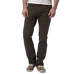 RJR.John Rocha - Big and tall khaki straight leg trousers