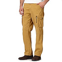 RJR.John Rocha - Big and tall designer tan twill cargo trousers