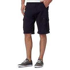 RJR.John Rocha - Designer navy cargo shorts