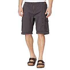 RJR.John Rocha - Big and tall designer grey pocket cargo shorts