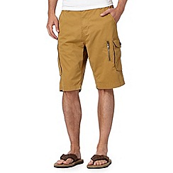 RJR.John Rocha - Big and tall designer tan twill cargo shorts