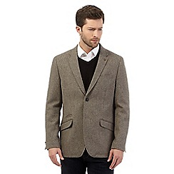 RJR.John Rocha - Big and tall designer fawn donegal blazer