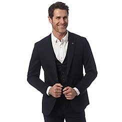 RJR.John Rocha - Big and tall designer navy cotton stretch jacket