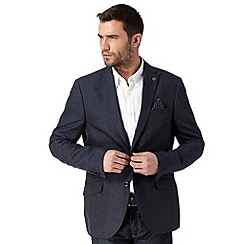 RJR.John Rocha - Big and tall designer navy striped blazer