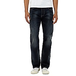 RJR.John Rocha - Big and tall designer dark blue regular leg jeans