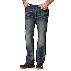 RJR.John Rocha - Big and tall designer blue vintage wash regular fit jeans