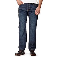 RJR.John Rocha - Big and tall designer blue rinse wash straight fit jeans