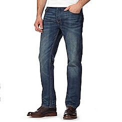 RJR.John Rocha - Designer blue mid wash straight fit jeans