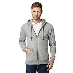 RJR.John Rocha - Designer grey textured herringbone hoodie