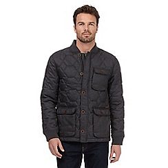 RJR.John Rocha - Dark grey quilted jacket