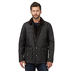 RJR.John Rocha - Big and tall dark green quilted jacket