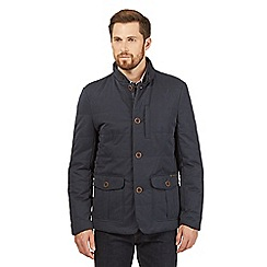 RJR.John Rocha - Big and tall navy quilted jacket