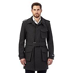 RJR.John Rocha - Big and tall grey utility coat