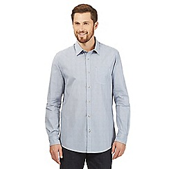 RJR.John Rocha - Big and tall blue buttoned shirt