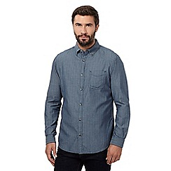 RJR.John Rocha - Big and tall blue stripe shirt