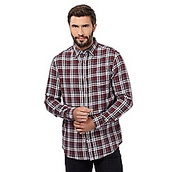 RJR.John Rocha - Plum check shirt