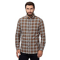 RJR.John Rocha - Tan check shirt