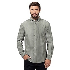 RJR.John Rocha - Big and tall light green stripe shirt