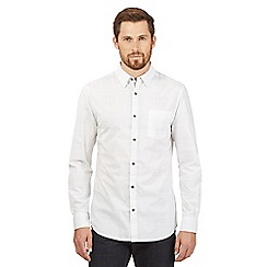 RJR.John Rocha - Big and tall white buttoned shirt