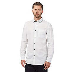 RJR.John Rocha - White double collar shirt