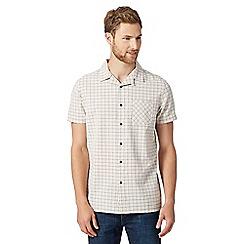 RJR.John Rocha - Designer peach jacquard shirt