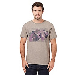 RJR.John Rocha - Big and tall natural retro circles t-shirt