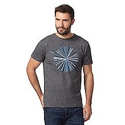 RJR.John Rocha - Big and tall designer dark grey circle burst t-shirt