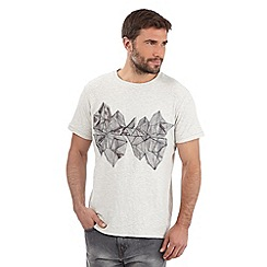 RJR.John Rocha - Big and tall designer natural icebergs graphic t-shirt