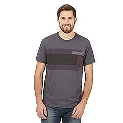 RJR.John Rocha - Light grey striped t-shirt