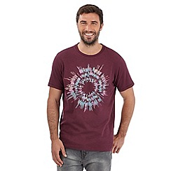 RJR.John Rocha - Big and tall designer mauve exploding circle t-shirt