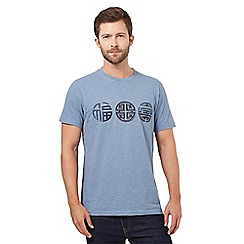 RJR.John Rocha - Big and tall blue symbol crew neck t-shirt