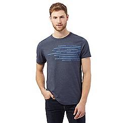 RJR.John Rocha - Navy pen squiggle chest t-shirt