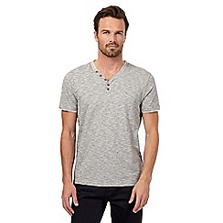 RJR.John Rocha - Grey Y neck top