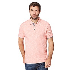 RJR.John Rocha - Designer peach cut and sew polo shirt